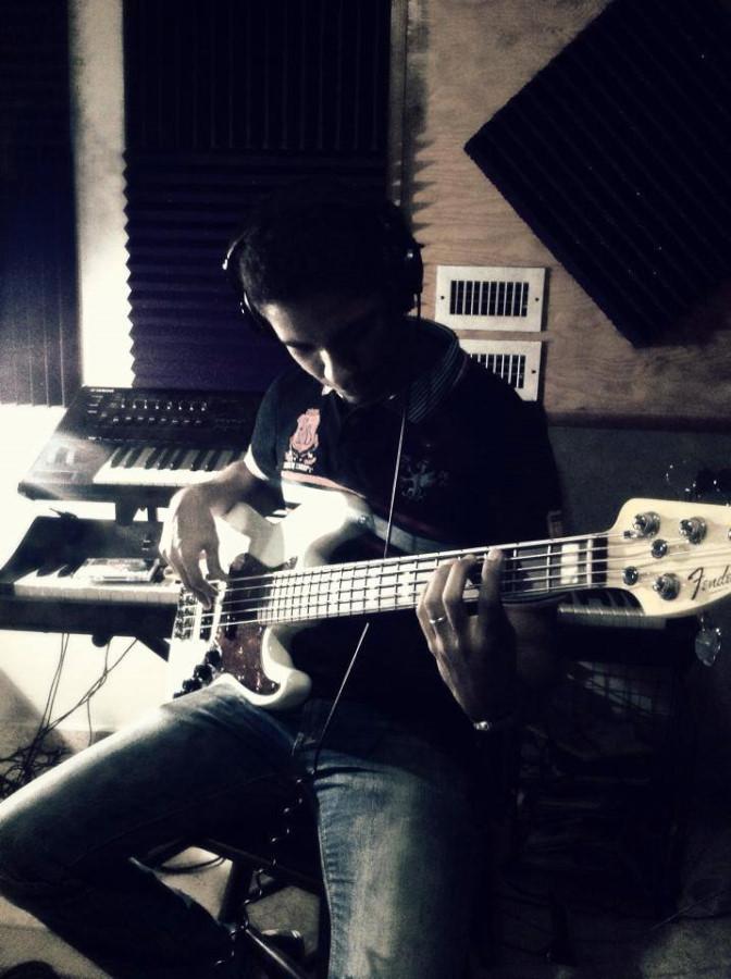 ALBUM RECORDING IN THE STUDIO